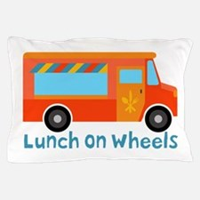 Lunch On Wheels Pillow Case