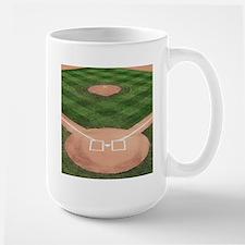 Baseball Diamond MugMugs