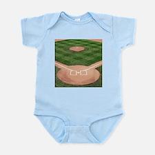 Baseball Diamond Infant Bodysuit