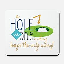 Golf Day Mousepad