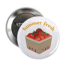 "Summer Fresh Tomatoes 2.25"" Button (100 pack)"