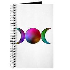 Triple Moon Journal/BoS - Watercolor