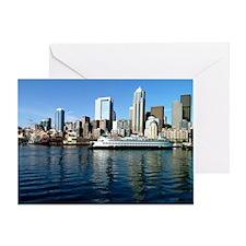 Seattle Waterfront Greeting Card