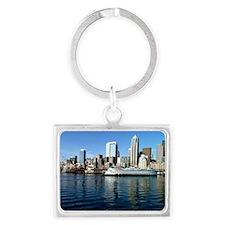 Seattle Waterfront Landscape Keychain