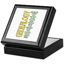 Cute Genealogist Keepsake Box