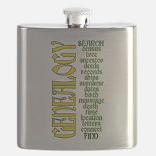 Cute Genealogist Flask