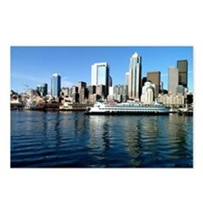 Seattle Waterfront Postcards (Package of 8)