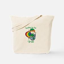 Lucky to be Irish Tote Bag