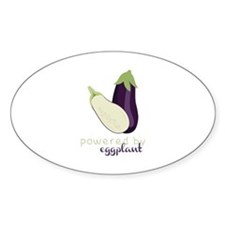 Powered By Eggplant Decal