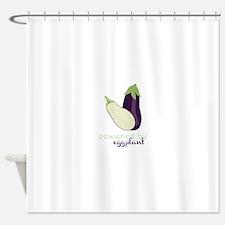eggplants shower curtains | eggplants fabric shower curtain liner
