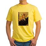 Mom's Golden Retrieve Yellow T-Shirt