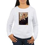 Mom's Golden Retrieve Women's Long Sleeve T-Shirt
