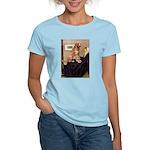 Mom's Golden Retrieve Women's Light T-Shirt