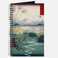 Otsuki Fields In Kai Province - Hiroshige  Journal