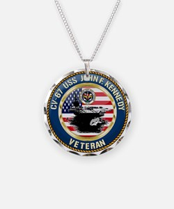 CV-67 USS John F. Kennedy Necklace