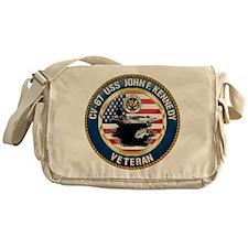 CV-67 USS John F. Kennedy Messenger Bag