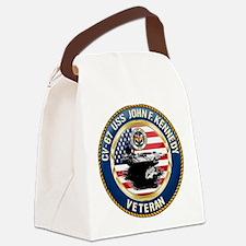 CV-67 USS John F. Kennedy Canvas Lunch Bag