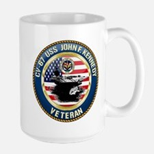 CV-67 USS John F. Kennedy Mug
