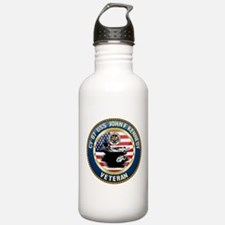 CV-67 USS John F. Kenn Water Bottle