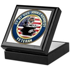 CV-67 USS John F. Kennedy Keepsake Box