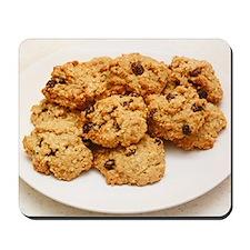 Oatmeal raisin cookies Mousepad