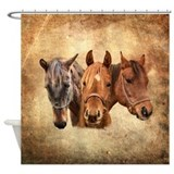 Arabian horse Shower Curtains