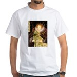 The Queen's Golden White T-Shirt