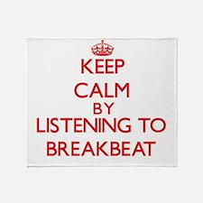 Cool Breakbeat Throw Blanket