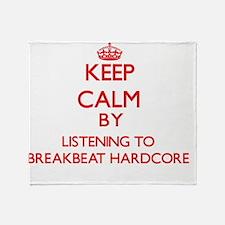 Cute Breakbeat Throw Blanket