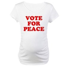 Vote For Peace Shirt