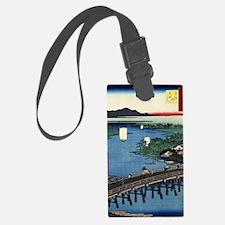 Senju Great Bridge - Hiroshige A Luggage Tag
