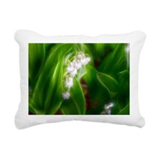 Lily of the Valley Rectangular Canvas Pillow
