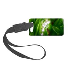 Lily of the Valley Luggage Tag