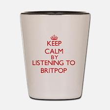 Cool Britpop Shot Glass