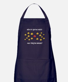 What if you're right Apron (dark)
