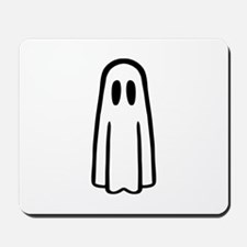 Funny ghost face Mousepad