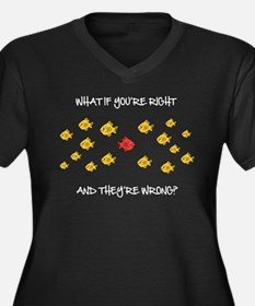 What if you're right Plus Size T-Shirt