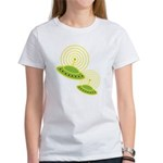 Retro Flying Saucers Women's T-Shirt
