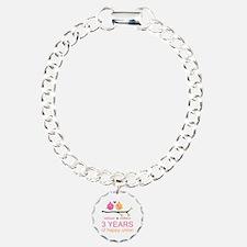 3rd Year Anniversary Per Bracelet