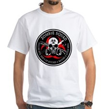 Biohazard Zombie Squad 3 Ring Patch outlined 2 T-S