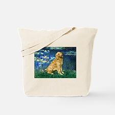 Lilies (#5) & Golden (1B) Tote Bag