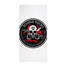 Biohazard Zombie Squad 3 Ring Patch outlined 2 Bea
