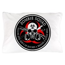 Biohazard Zombie Squad 3 Ring Patch outlined 2 Pil