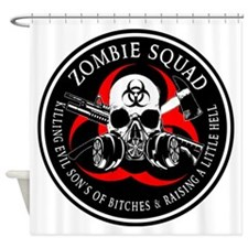 Biohazard Zombie Squad 3 Ring Patch outlined 2 Sho