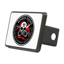 Biohazard Zombie Squad 3 Ring Patch outlined 2 Hit