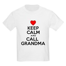 Keep Calm Call Grandma T-Shirt