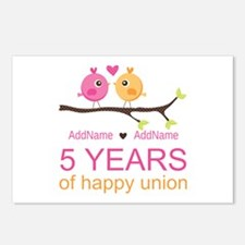 5th Anniversary Personali Postcards (Package of 8)