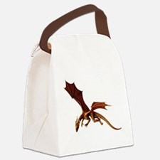 Dragon Attack Canvas Lunch Bag