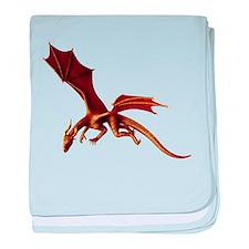 Dragon Attack baby blanket