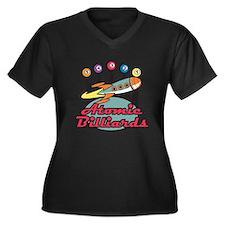 Retro Atomic Billiards Pool Hall Sign Women's Plus